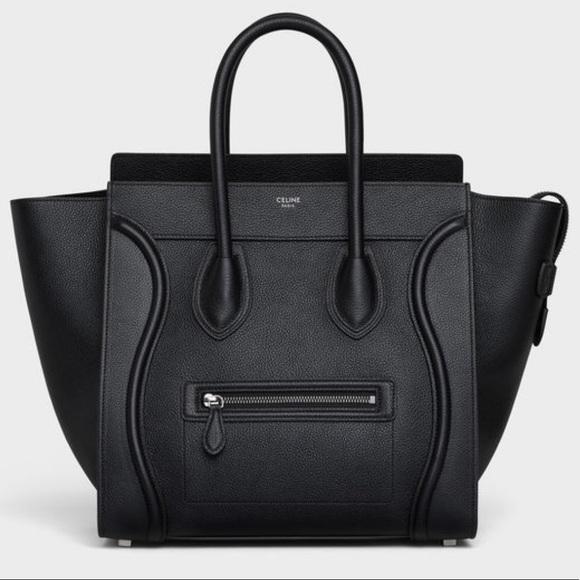 Celine Handbags - Celine mini pebbles luggage tote!